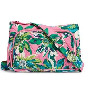 Vera Bradley Little Hipster Xbdy Tropical Paradise